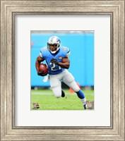 Reggie Bush Running On Football Field Fine Art Print