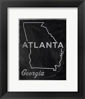 Atlanta, Georgia Fine Art Print