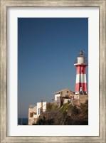 Israel, Tel Aviv, Jaffa, Jaffa Old Port, lighthouse Fine Art Print