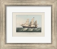 "The Clipper Ship ""Sovereign of the Seas"", 1852 Fine Art Print"