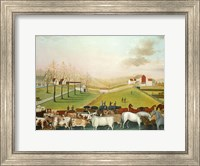 The Cornell Farm, 1848 Fine Art Print