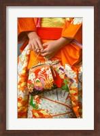 Meriji Shrin, Shichigosan Festival, Harajuku, Tokyo, Japan Fine Art Print