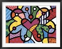 Heart Butterfly Fine Art Print