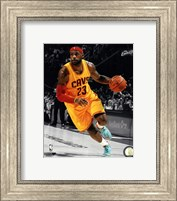 LeBron James 2014-15 Spotlight Action Fine Art Print