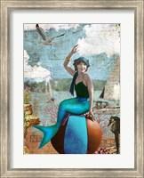 Beach Mermaid Fine Art Print