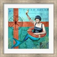 Puget Sound Mermaid Fine Art Print