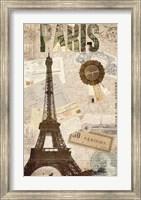 Sepia Paris Fine Art Print
