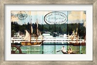 Tall Ships On The Sound Fine Art Print