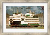 Voyage To Puget Sound Fine Art Print