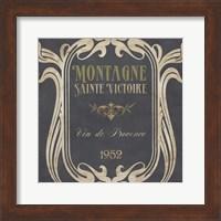 Vintage Wine Labels V Fine Art Print