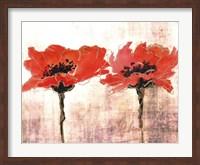 Vivid Red Poppies V Fine Art Print