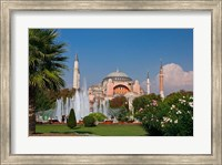 The Hagia Sophia Mosque, Istanbul, Turkey Fine Art Print