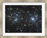 The Double Cluster, NGC 884 and NGC 869 Fine Art Print
