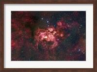 Emission Nebula Located in the Constellation Scorpius (NGC 6357) Fine Art Print