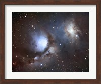 Messier 78, A Reflection Nebula in the Constellation Orion Fine Art Print