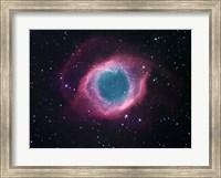 The Helix Nebula Fine Art Print
