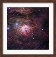 The Hourglass Nebula Fine Art Print