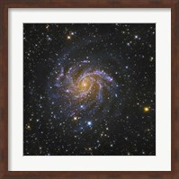 The Fireworks Galaxy Fine Art Print