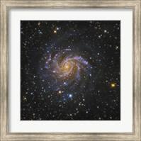 The Fireworks Galaxy Fine Art Print