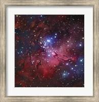 Messier 16, The Eagle Nebula in Serpens Fine Art Print