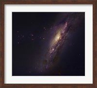 Polar Ring Galaxy in Pisces Fine Art Print