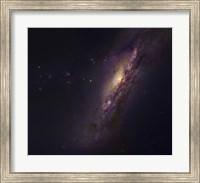 Polar Ring Galaxy in Pisces Fine Art Print