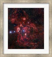 The Lobster Nebula in Scorpius Fine Art Print