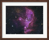 Open Cluster and Nebula Complex in the Small Magellanic Cloud Fine Art Print