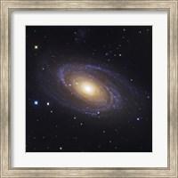 Bodes Galaxy, a Spiral Galaxy in Ursa Major Fine Art Print