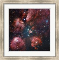 The Cat's Paw Nebula in Scorpius Fine Art Print