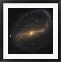 Barred Spiral Galaxy in the Constellation Pegasus Fine Art Print