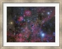 The Vela Supernova Remnant Fine Art Print