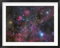 The Vela Supernova Remnant Fine Art Print