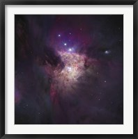The Center of the Orion Nebula (The Trapezium Cluster) Fine Art Print