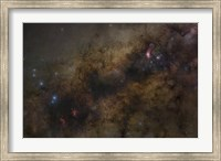 The Galactic Center of the Milky Way Galaxy Fine Art Print