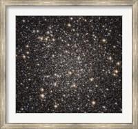 Globular cluster M22 in the constellation Sagittarius Fine Art Print