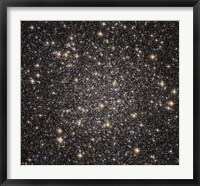 Globular cluster M22 in the constellation Sagittarius Fine Art Print
