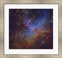 Eagle Nebula in Serpens Fine Art Print