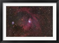 The Cone Nebula region in Monoceros Fine Art Print