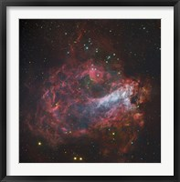 The Omega Nebula in Sagittarius Fine Art Print