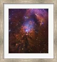 Bright Reflection Nebula in Orion Fine Art Print