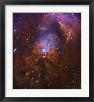 Bright Reflection Nebula in Orion Fine Art Print