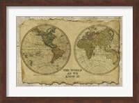 Antique Map I Fine Art Print