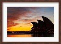 Australia, New South Wales, Sydney Opera House at Dawn Fine Art Print