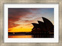 Australia, New South Wales, Sydney Opera House at Dawn Fine Art Print