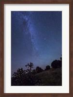 Milky Way Rises Over Kenton, Oklahoma Fine Art Print