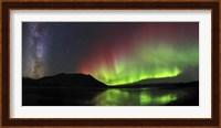 Aurora Borealis, Milky Way and Big Dipper Fine Art Print