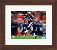 Tom Brady Motion Blast Fine Art Print