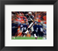 Tom Brady Motion Blast Fine Art Print