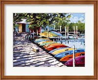 Kayak Dock Fine Art Print